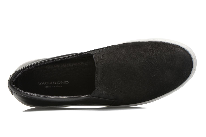 Baskets Vagabond Shoemakers ZOE SLIP-ON 4326-350 Noir vue gauche