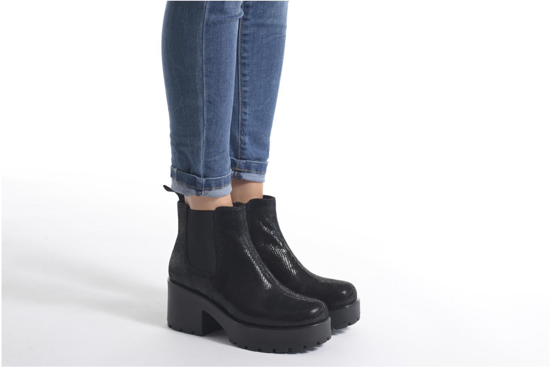 Stiefeletten & Boots Vagabond DIOON 4247-208 schwarz ansicht von unten / tasche getragen
