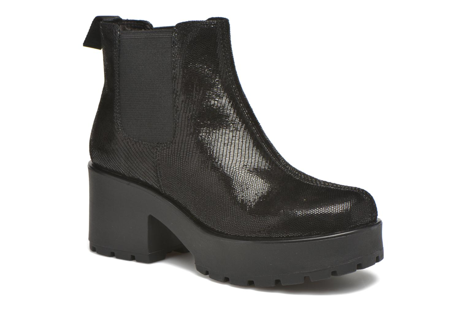 Ankle boots Vagabond DIOON 4247-208 Black detailed view/ Pair view