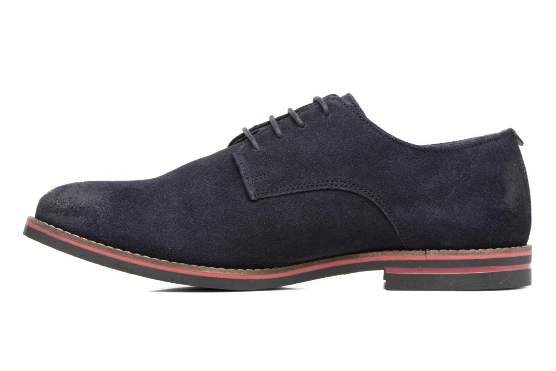 Zapatos con cordones Kickers Eldan Azul vista de frente