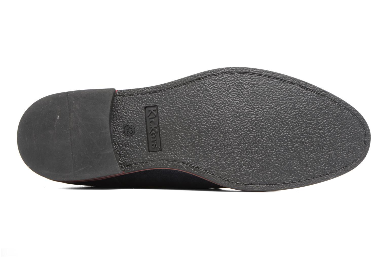 Zapatos con cordones Kickers Eldan Azul vista de arriba