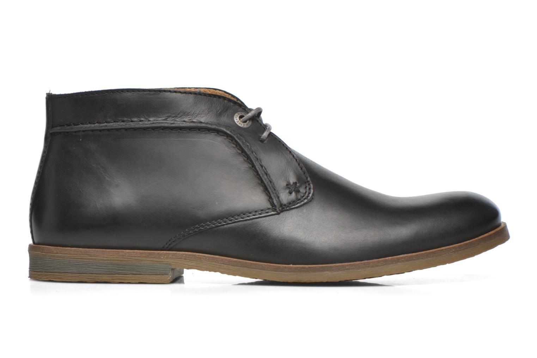 Chaussures à lacets Kickers Flaval Noir vue derrière