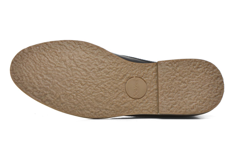 Chaussures à lacets Kickers Flaval Noir vue haut