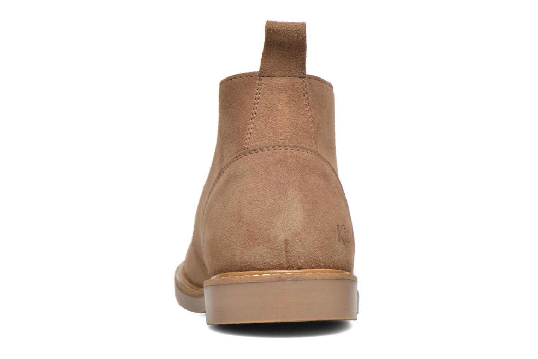 Stiefeletten & Boots Kickers Tyl beige ansicht von rechts