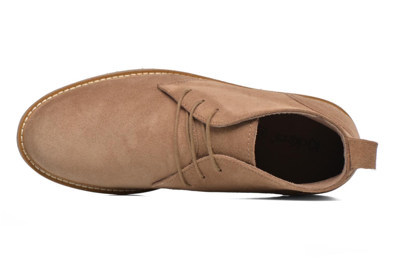 Stiefeletten & Boots Kickers Tyl beige ansicht von links