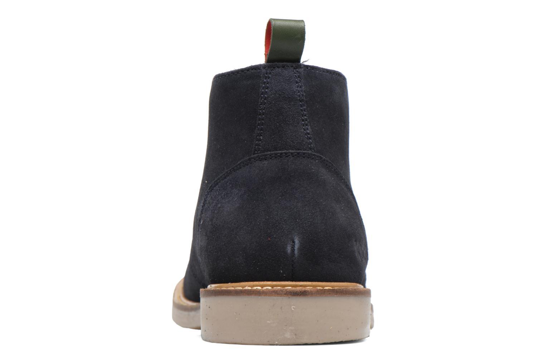 Bottines et boots Kickers Tyl Bleu vue droite