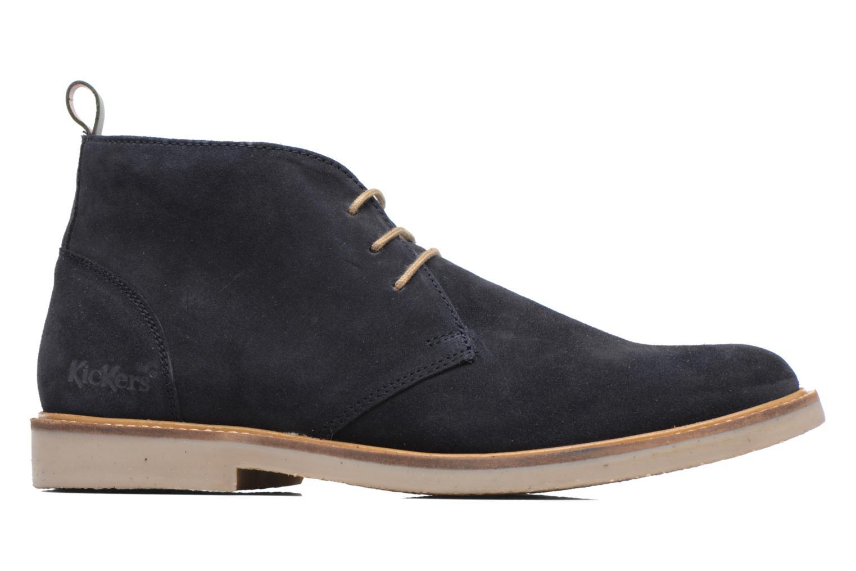 Bottines et boots Kickers Tyl Bleu vue derrière