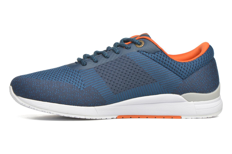Sneaker Kickers Knitwear blau ansicht von vorne