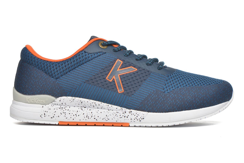 Sneaker Kickers Knitwear blau ansicht von hinten