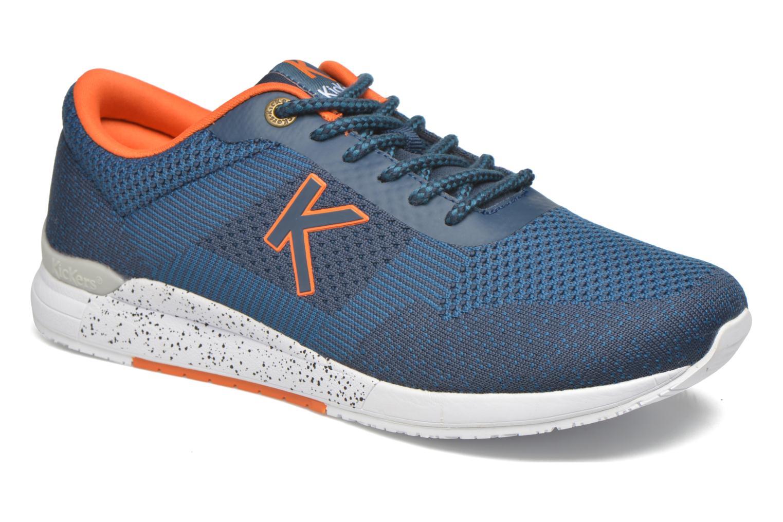 Sneaker Kickers Knitwear blau detaillierte ansicht/modell