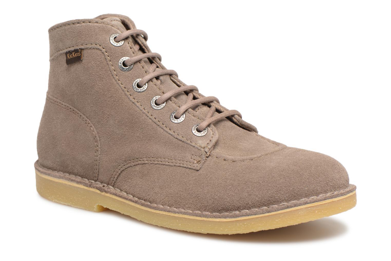 Bottines et boots Kickers Orilegend Beige vue détail/paire