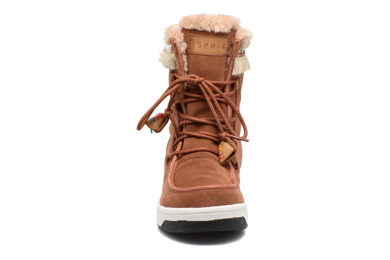 Stiefeletten & Boots Esprit Ducky LU Bootie braun schuhe getragen