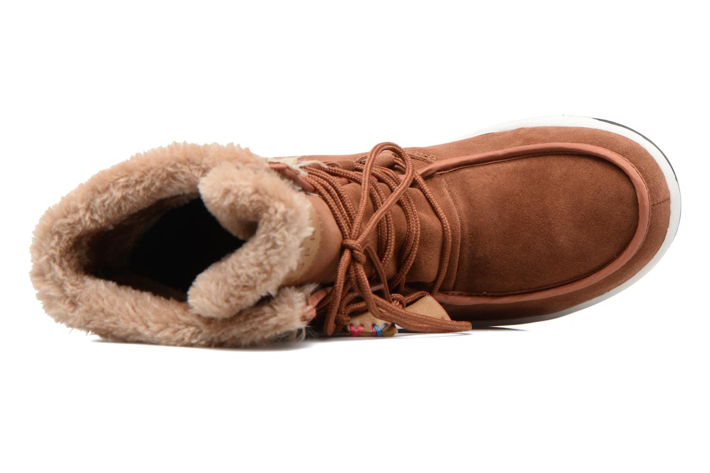 Stiefeletten & Boots Esprit Ducky LU Bootie braun ansicht von links