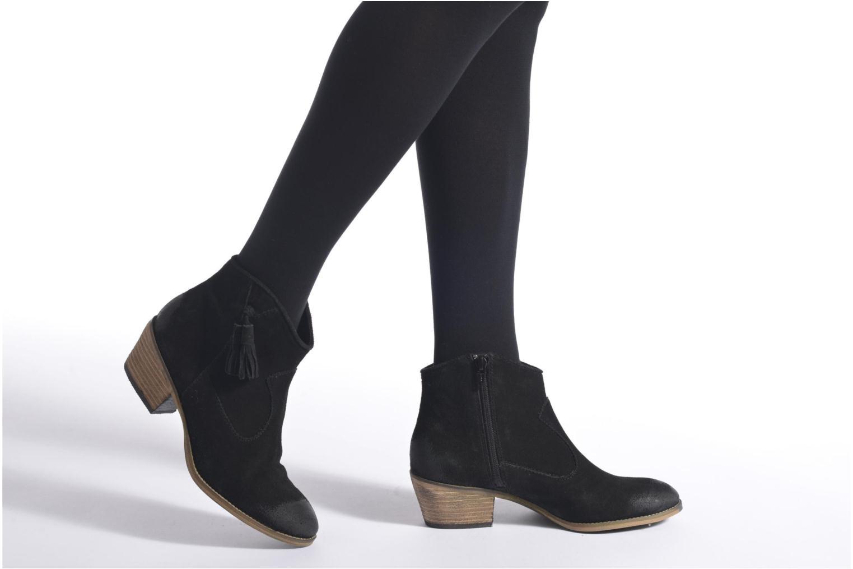 Bottines et boots Esprit Bake Tossel Noir vue bas / vue portée sac
