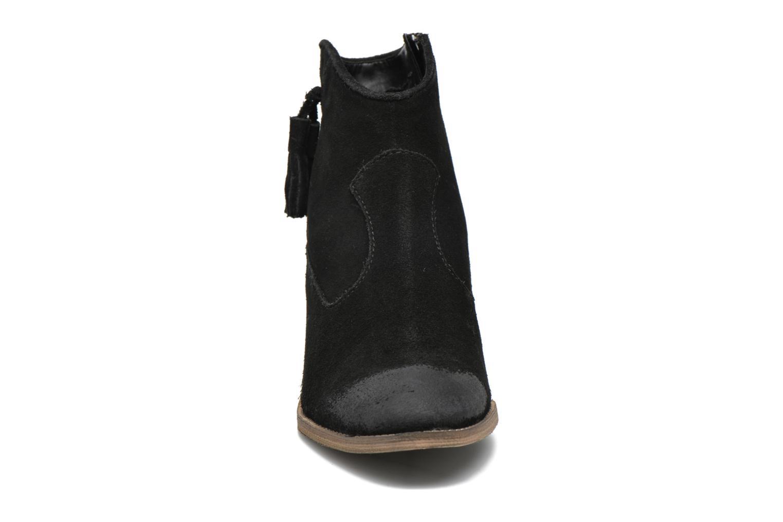 Bottines et boots Esprit Bake Tossel Noir vue portées chaussures
