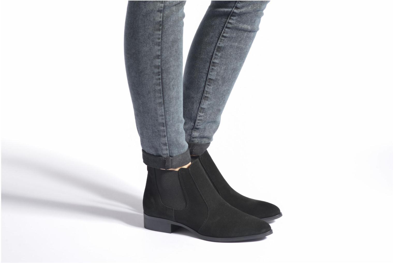 Bottines et boots Esprit Sian TG Bootie Noir vue bas / vue portée sac