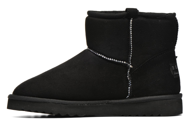 Bottines et boots Esprit Uma Fringes Noir vue face