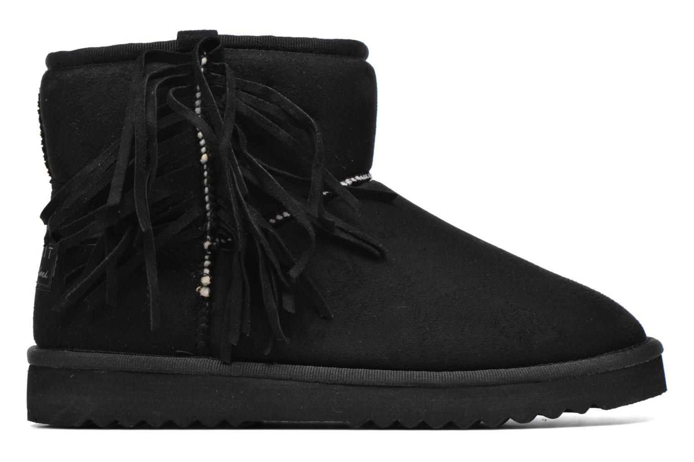 Bottines et boots Esprit Uma Fringes Noir vue derrière