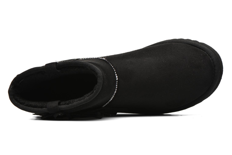 Bottines et boots Esprit Uma Fringes Noir vue gauche