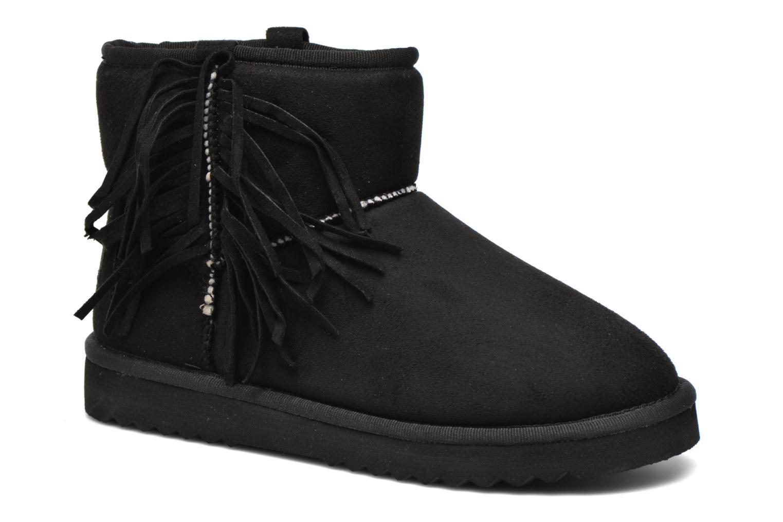 Bottines et boots Esprit Uma Fringes Noir vue détail/paire