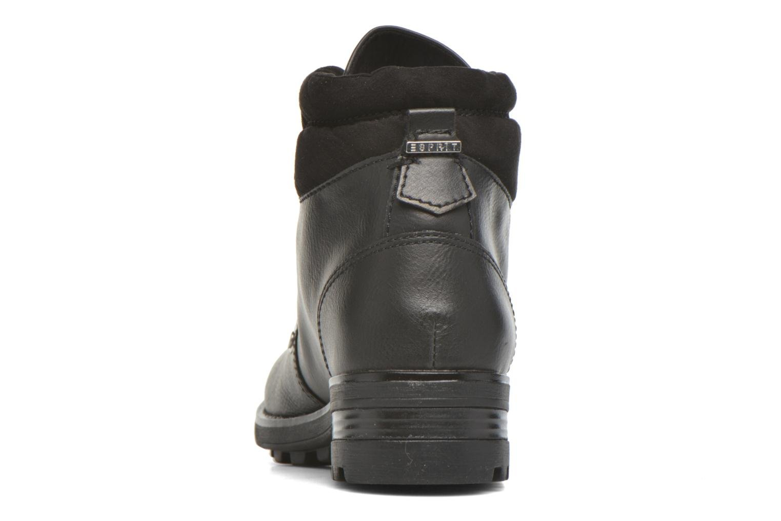 Ankle boots Esprit Raija Bootie Black view from the right