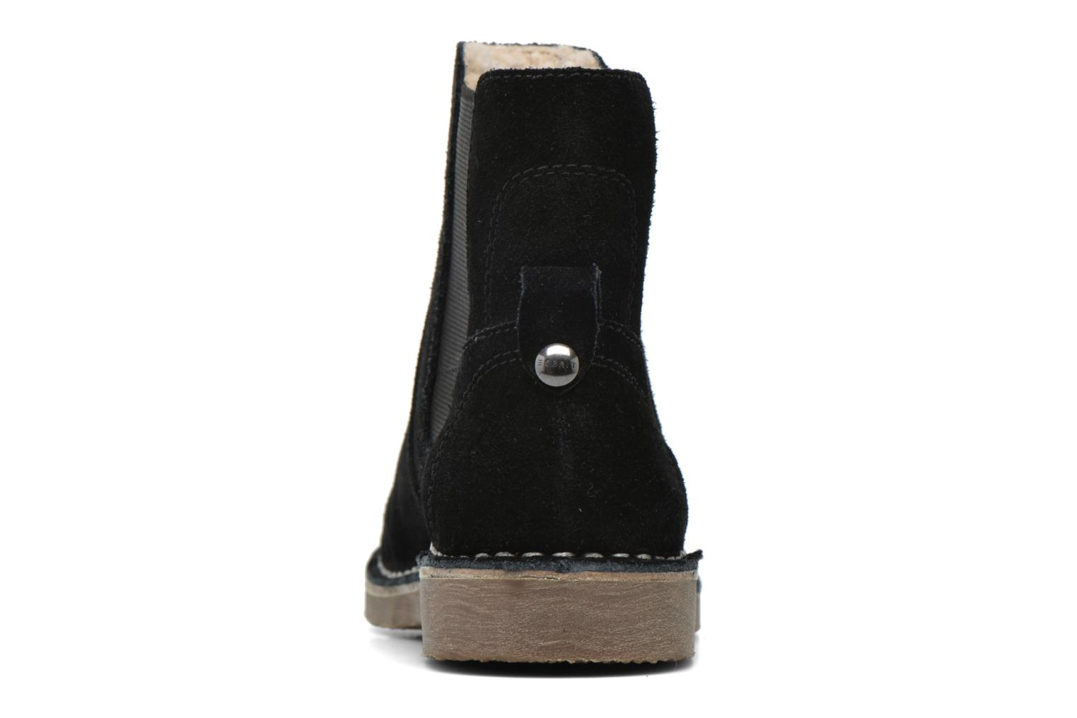 Ankle boots Esprit Koa TG Bootie Black view from the right