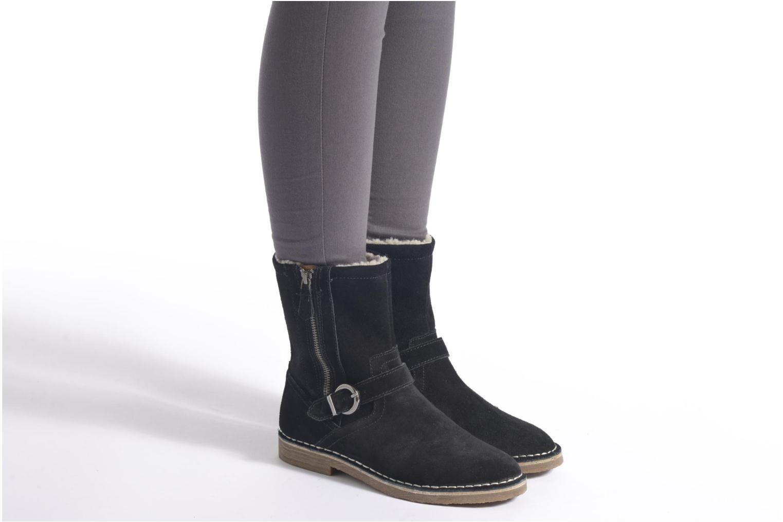 Bottines et boots Esprit Koa Buckle Noir vue bas / vue portée sac