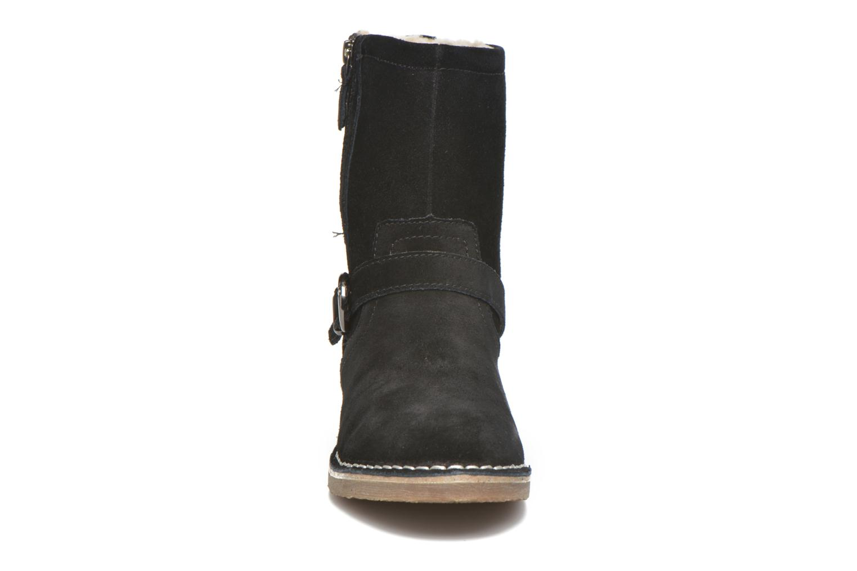 Bottines et boots Esprit Koa Buckle Noir vue portées chaussures