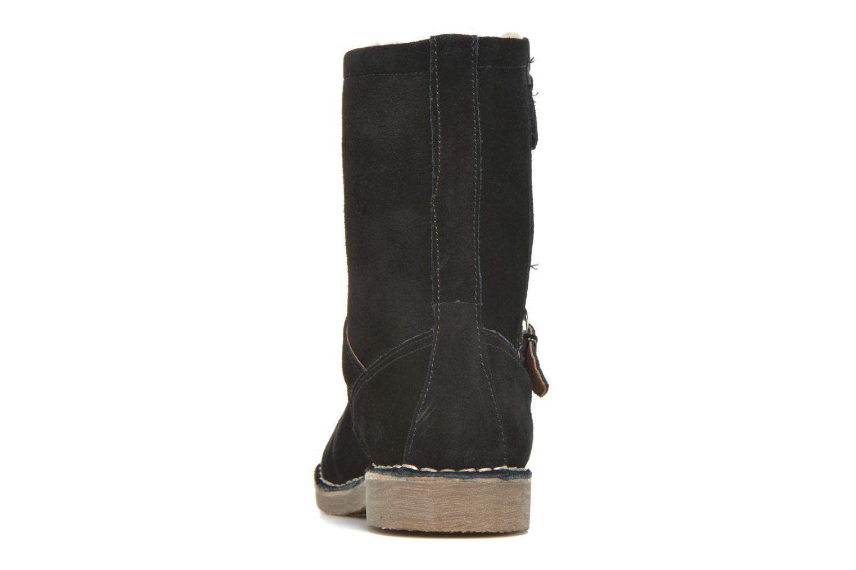 Bottines et boots Esprit Koa Buckle Noir vue droite