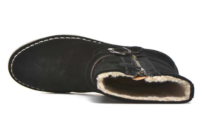 Bottines et boots Esprit Koa Buckle Noir vue gauche