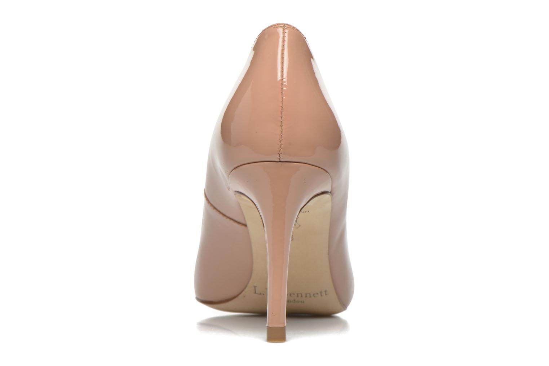 Zapatos de tacón L.K. Bennett Sasha Beige vista lateral derecha
