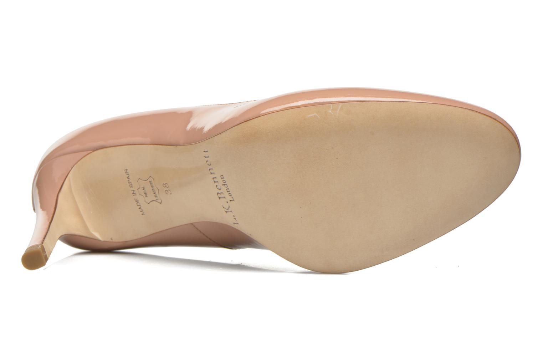 Zapatos de tacón L.K. Bennett Sasha Beige vista de arriba