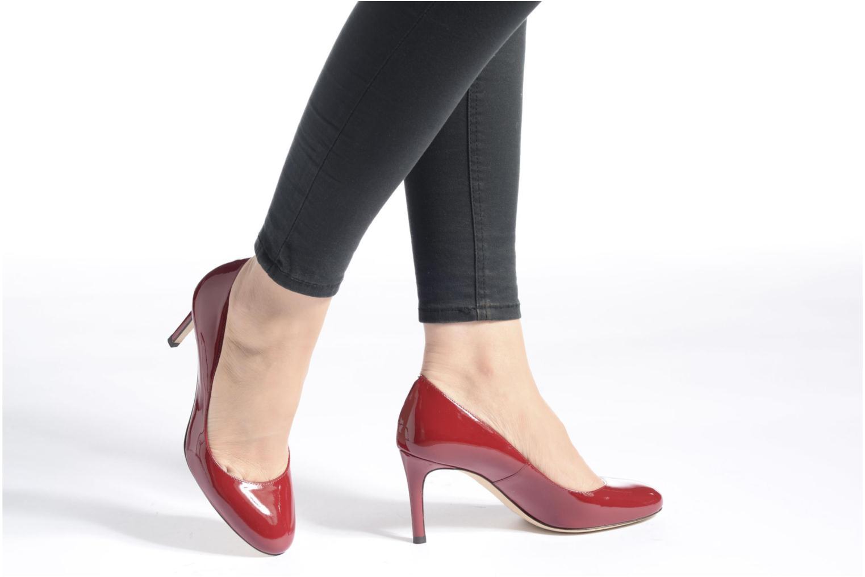 High heels L.K. Bennett Sasha Blue view from underneath / model view