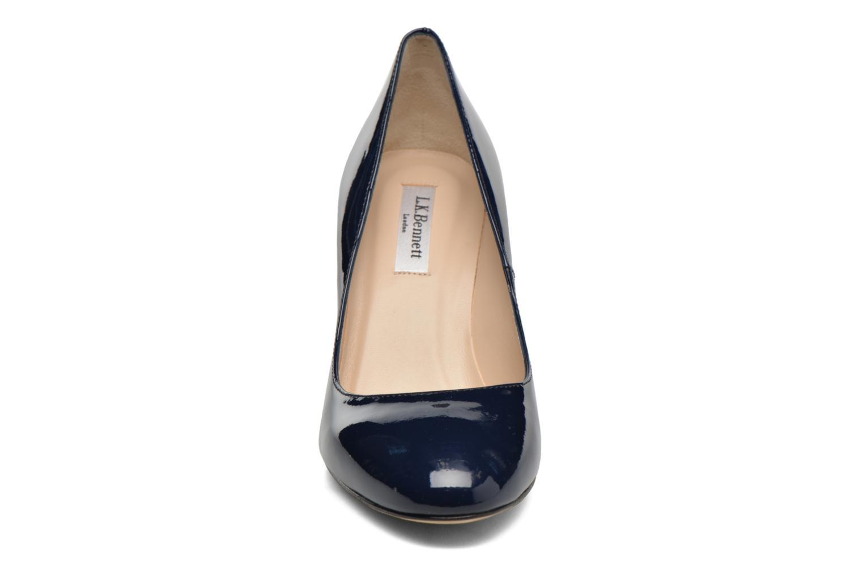 Escarpins L.K. Bennett Sasha Bleu vue portées chaussures