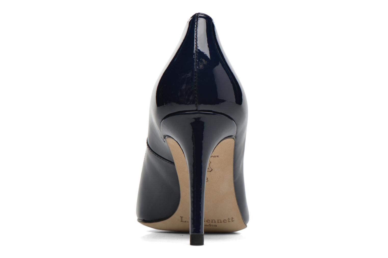 Zapatos de tacón L.K. Bennett Sasha Azul vista lateral derecha