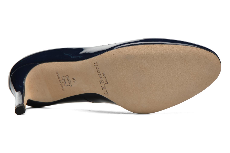 Zapatos de tacón L.K. Bennett Sasha Azul vista de arriba