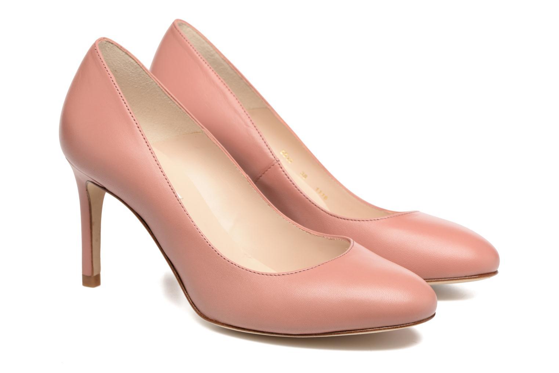 Sasha Nappa Leather Dark Pink
