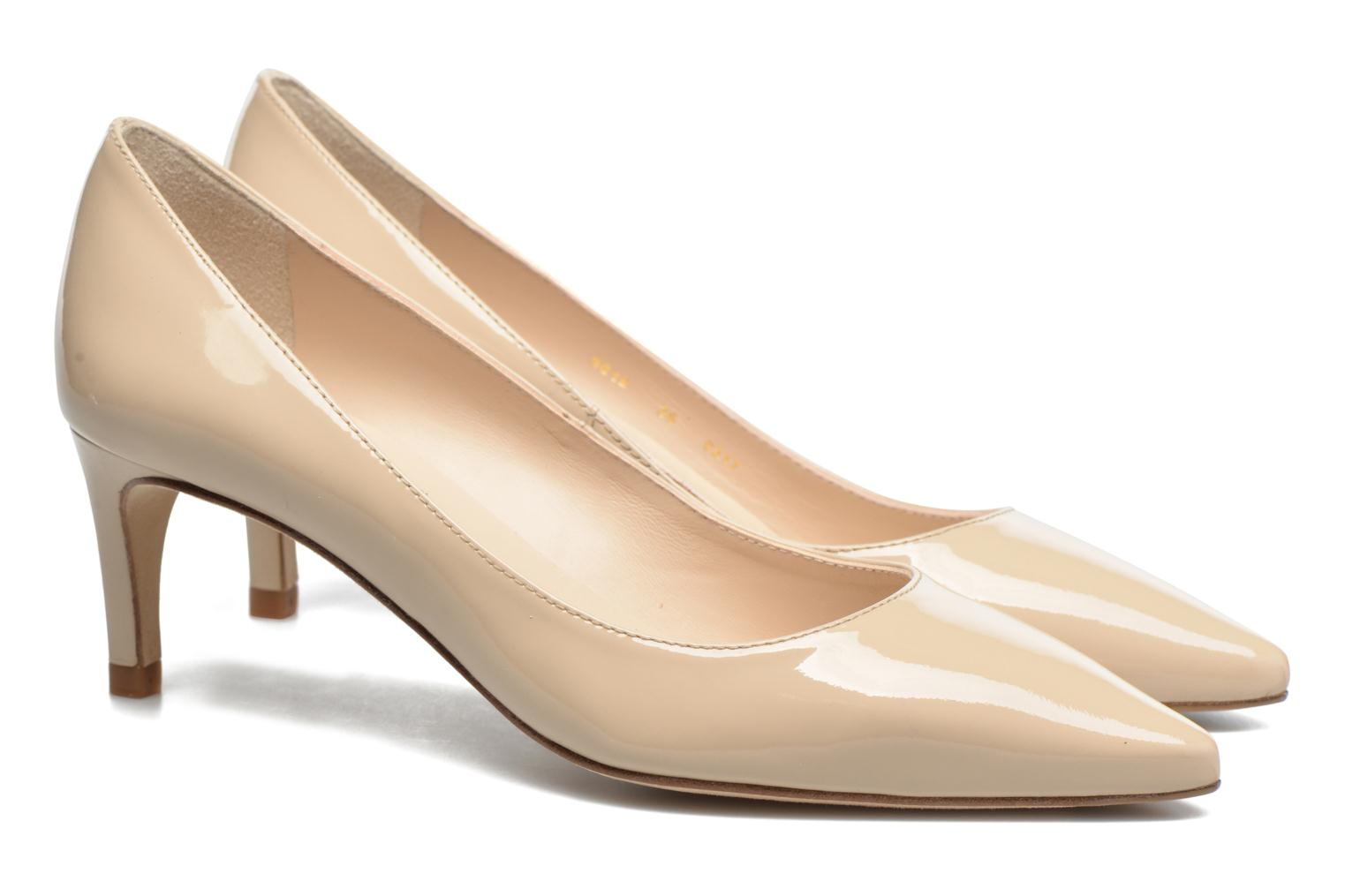 High heels L.K. Bennett Florida Beige 3/4 view