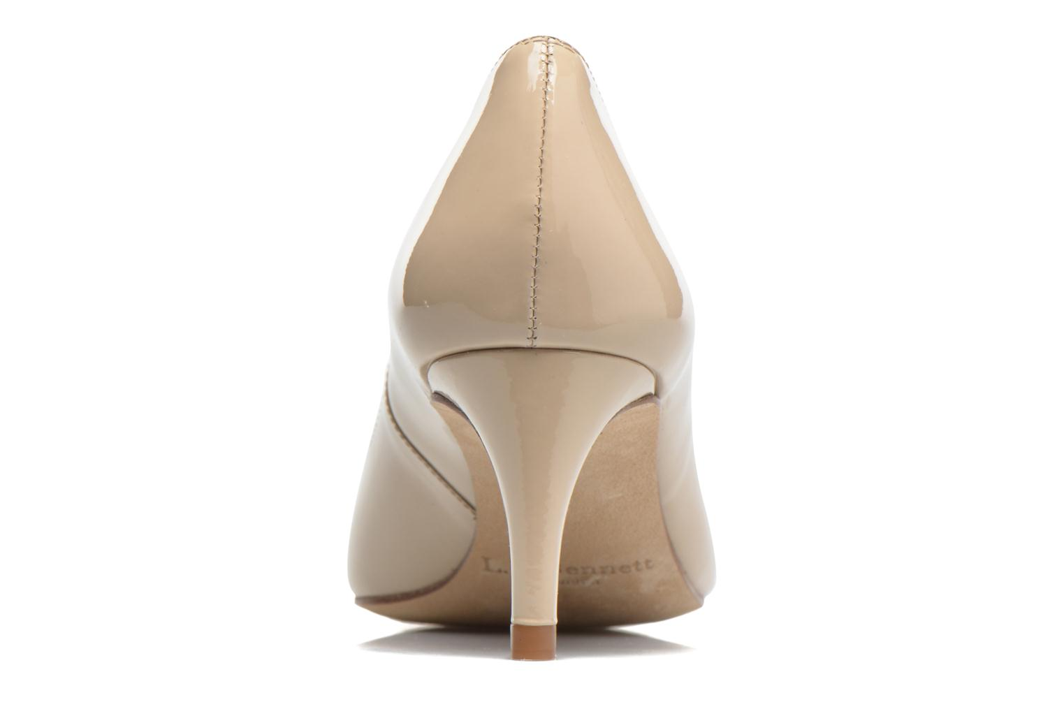 High heels L.K. Bennett Florida Beige view from the right