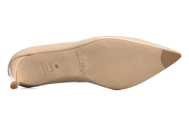 Zapatos de tacón L.K. Bennett Florida Beige vista de arriba