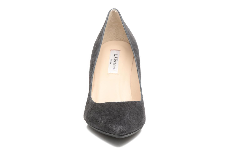 Escarpins L.K. Bennett Tess Gris vue portées chaussures
