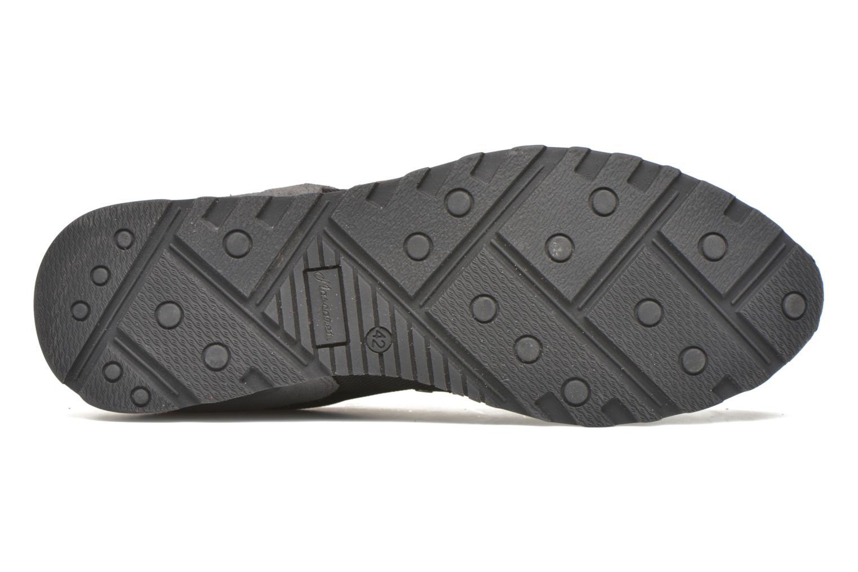 Sneaker Mascaret Wolf forza 7 schwarz ansicht von oben