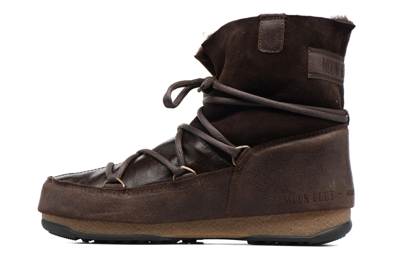 Sport shoes Moon Boot Low Mix Brown front view