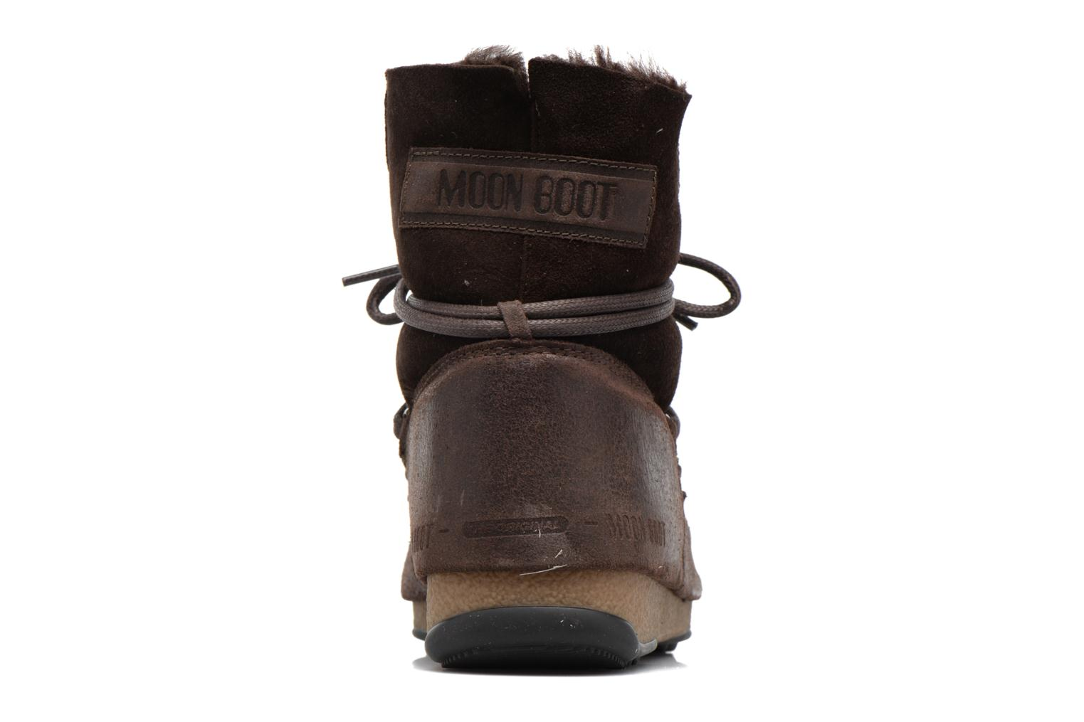 Sport shoes Moon Boot Low Mix Brown view from the right