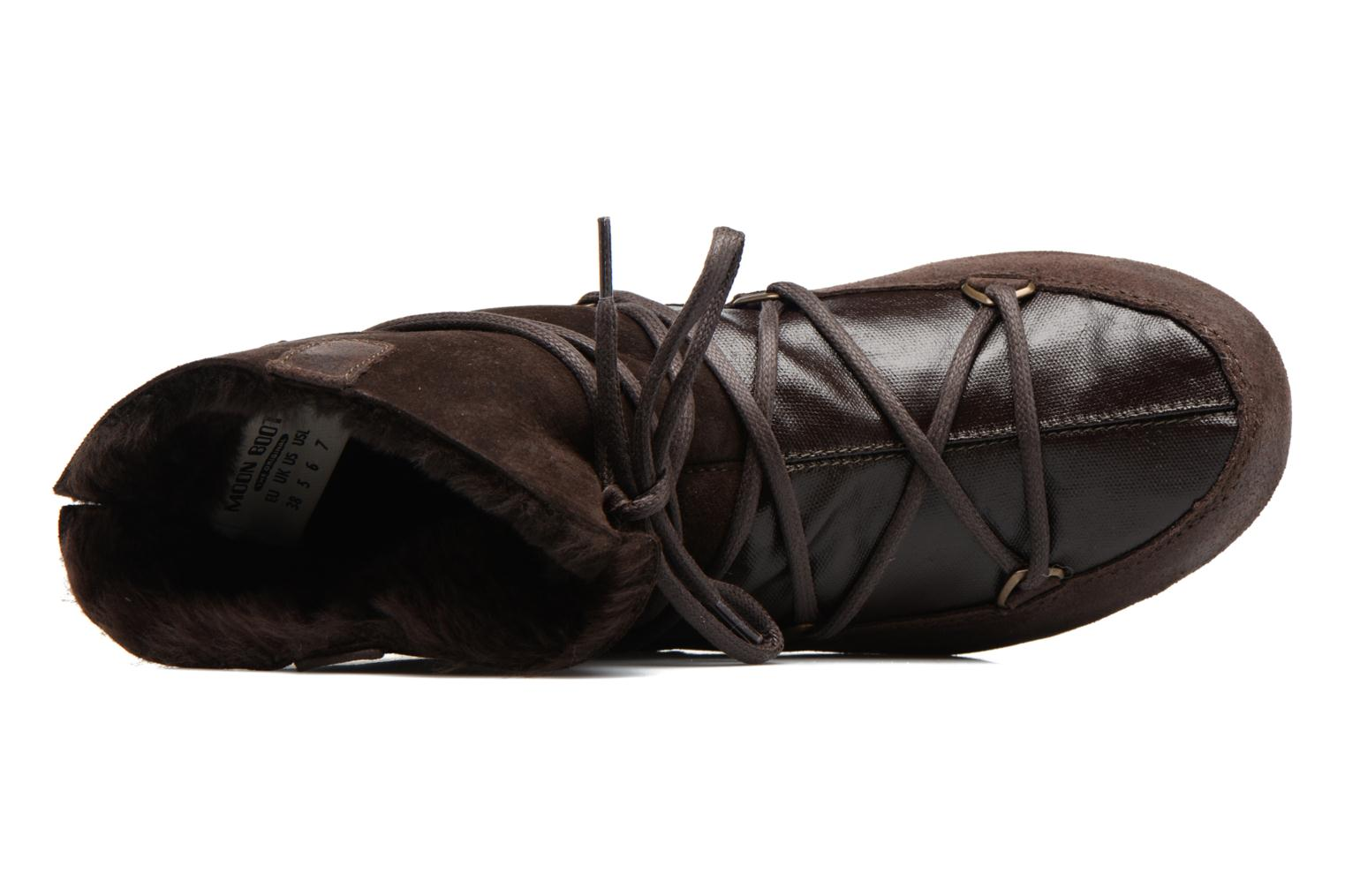 Sport shoes Moon Boot Low Mix Brown view from the left