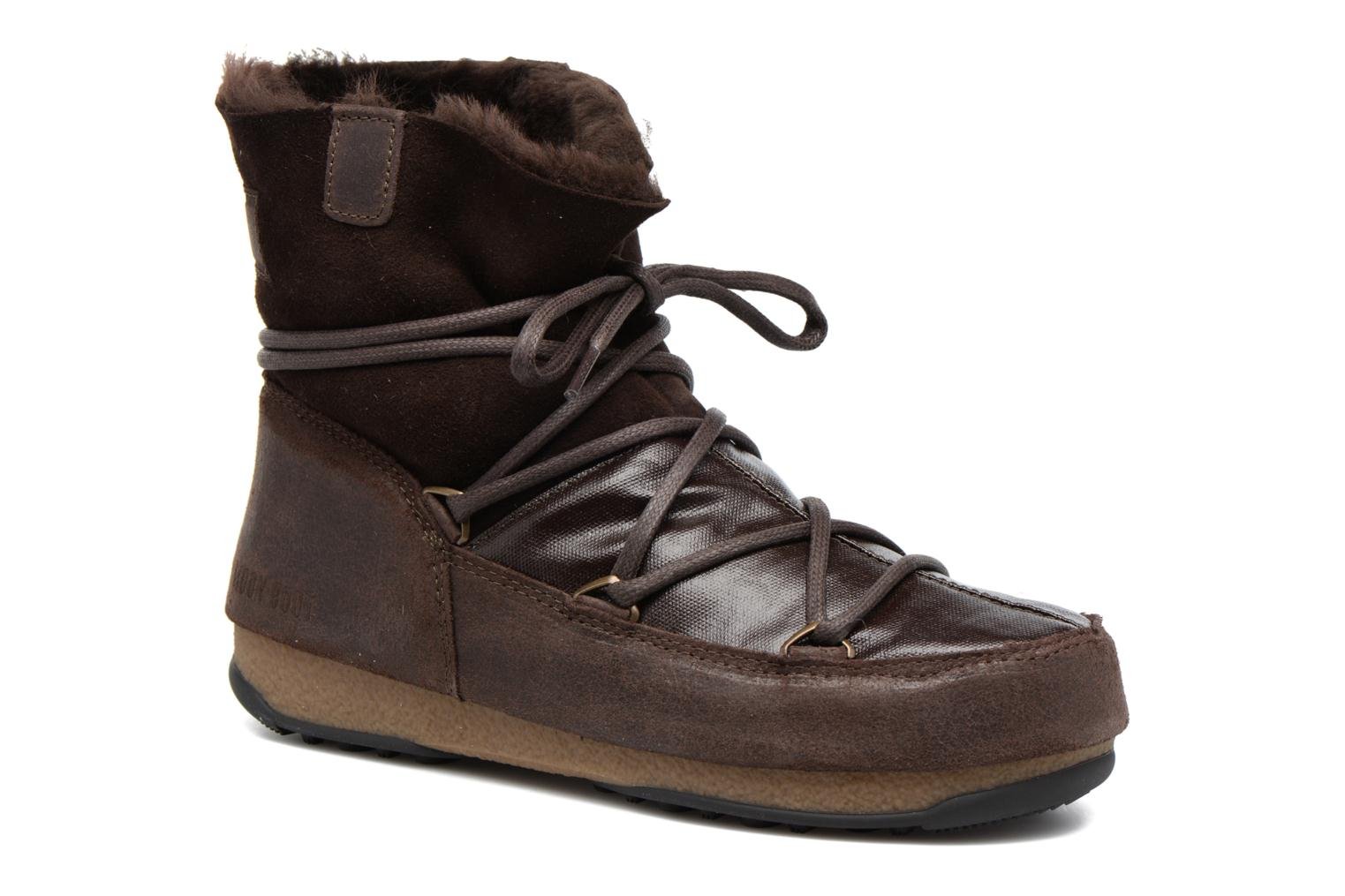 Sport shoes Moon Boot Low Mix Brown detailed view/ Pair view