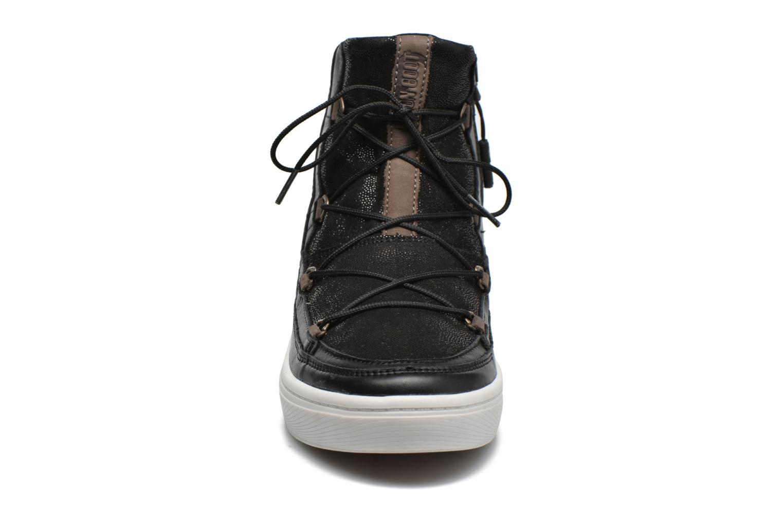 Chaussures de sport Moon Boot Vega Lux Noir vue portées chaussures