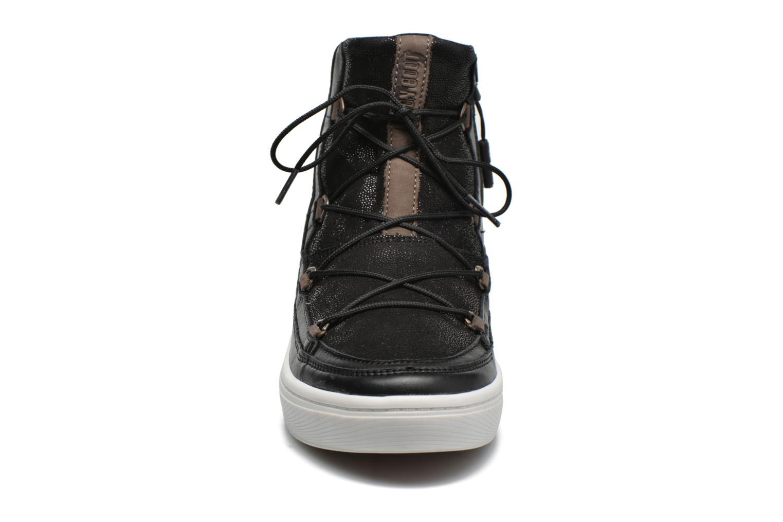 Sportschuhe Moon Boot Vega Lux schwarz schuhe getragen