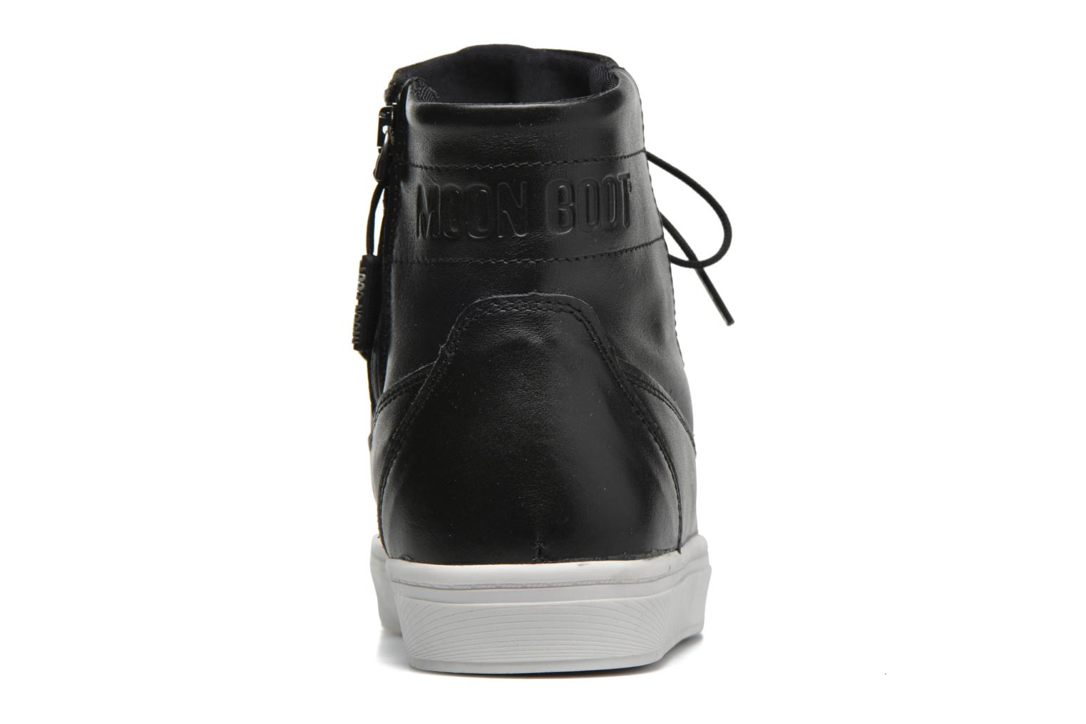 Sport shoes Moon Boot Vega Lux Black view from the right