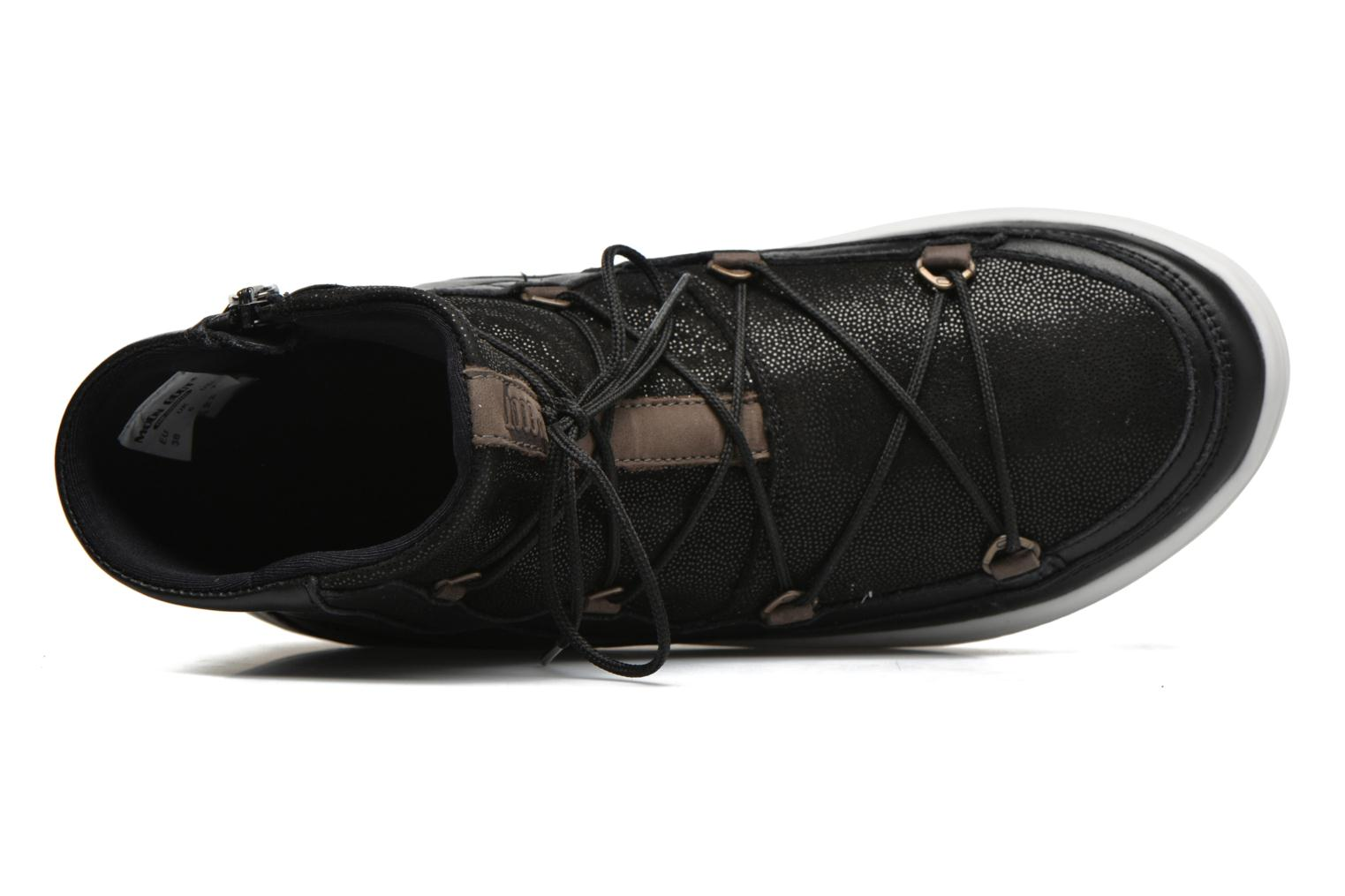 Sport shoes Moon Boot Vega Lux Black view from the left